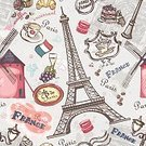 Eiffel Tower,Winning,Ilustration,Australian Rugby Championship,Fountain,Tower,Cup,Vector,Delaware,Old-fashioned,Backgrounds,Vase,Cake,France,Europe,Croissant,Cupcake,Pink Color,Cafe,Romance,Blue,Mosque,Architecture,Grape