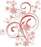 Flower,Snow,Winter,Vector,Knick Knack,Snowing,Floral Pattern,Decoration,Snowflake,Design Element,Dried Food,Design,Ornate,Holidays And Celebrations,Illustrations And Vector Art,Christmas,Vector Backgrounds,Vector Ornaments,December,Decor,Celebration,Ilustration,Computer Graphic,Shape,Holiday