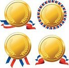 Gold Medal,Trophy,Competitive Sport,Competition,Gold,Medal,Gold Colored,Computer Icon,Metallic,Number 1,Success,Shiny,Motivation,Streamer,Recreational Pursuit,Challenge,Winning,Metal,First Place,Isolated On White,Symbol,Banner,Honor,Sport,Contest,Award,Ribbon