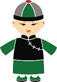 Chinese Ethnicity,Cartoon,Doll,Men,Little Boys,China - East Asia,Child,Asian Ethnicity,Cheongsam,Hat,Cultures,Ilustration,East Asian Culture,Costume,Chinese Culture,Vector,Cute,Design,Small,Asia,Male Beauty,Traditional Clothing,Real People,Stage Costume,Shoe,Characters,Male,Empire,Qing Dynasty,Circle,Fashion,dude,Red,Robe,Young Adult,Courage,Period Costume,Waistcoat,handcarves,Black Color,Illustrations And Vector Art,Curve,People,Styles,Green Color