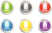 Condom,Vector,Religious Icon,Badge,Black Color,Shape,Steel,Metal,Iron - Metal,Plastic,Shiny,Design Element,Set,Computers,Technology,Internet,Sign,Reflection,Gray,Decoration,Empty,Design,Style,Illustrations And Vector Art,Multimedia,Ilustration,Vector Icons,Green Color,Red,Curve,Blue