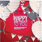 Birthday,Child,Anniversary,Confetti,Harmonica,Gift,Backgrounds,Vector,Surprise,Lifestyles,Joy,Invitation,Congratulating,String,Pattern,Ilustration,Origami,Copy Space,Event,Celebration,Decorating,Abstract,Folded,Bunting Flags,Wishing,Day,Decoration,Giving,Greeting,Laughing
