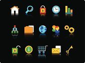 Symbol,Computer Icon,Human Resources,Icon Set,Black Background,People,Business,Web Page,Shopping Cart,Interface Icons,Internet,E-commerce,Gear,Key,Computer Network,Set,Connection,Color Image,House,Occupation,Series,Security Staff,Clip Art,Security,Communication,Computer Graphic,Multimedia,Sign,Vector,Graph,File,Ilustration,Security System,Mail,Time,Digitally Generated Image,Global Communications,Envelope,Padlock,E-Mail,Magnifying Glass,Clock,Technology,Computers,Planet - Space,Illustrations And Vector Art,Isolated Objects