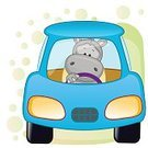 Cartoon,Vector,Journey,Looking,Ilustration,Blue,Animals In The Wild,Animal Themes,Animal,Car,Baby,Sport,Wheel,themes,Rudder,Transportation,Cheerful,Sitting,Characters,Design,Toy,Land Vehicle,Hippopotamus,Fun,Painting,Driving,Computer Graphic,Action,Smiling,Speed,Greeting Card,Greeting,Isolated,Art,Clip,Pickup,Happiness,Headlight,Travel,Engine,Image,Cute,Computer,Riding,One Person,Paw,Mammal