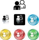 People,Symbol,Messenger,Computer Icon,Touching,Communication,Computer Network,Internet,Computer,Posing,Sign,Black Color,Connection,White,Computer Graphic,Vector,Yellow,Green Color,Interface Icons,Red,Ilustration,Reflection,Information Medium,Shiny,Grilled,Metallic,Blue,Vector Icons,Style,versions,Clip Art,Illustrations And Vector Art