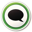 Green Color,Label,Web Page,www,Insignia,Pushing,Design,Internet,Discussion,Vector,Sign,Isolated,Speech