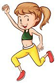 Yellow,Choreographer,Clothing,Red,Vector,Shoe,Facial Expression,rhythmic,Backgrounds,Photograph,Women,People,Dancing,Computer Graphic