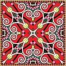 Carpet - Decor,Bandana,Cushion,Decoration,Doodle,Backgrounds,Abstract,Vector,Shawl,Pillow,Palace,Drawing - Activity,Textile,Ornate,Neckerchief,Pattern,Nobility,Symmetry,Luxury,Headscarf,Fashion,Geometric Shape,Handkerchief,Ilustration,Clothing