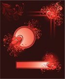 Heart Shape,Valentine's Day - Holiday,Corner,Ornate,Design,Frame,Birthday,Scroll Shape,Floral Pattern,Flower,Backgrounds,Vector,Red,Abstract,Art,Swirl,Pink Color,Elegance,Dirty,Ribbon,Luxury,Design Element,Ilustration,Image,Striped,Pattern,Nature,Computer Graphic,Leaf,Shape,Drawing - Art Product,Cartouche,Beautiful,Holidays And Celebrations,Valentine's Day,Vector Backgrounds,Illustrations And Vector Art,Holiday Backgrounds,Curled Up,Ideas,Branch,Holiday,Concepts