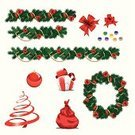 Christmas,Garland,Wreath,Pine,Frame,Tree,Ribbon,Holiday,Evergreen Tree,Backgrounds,Computer,Box - Container,Collection,Red,Bow,Isolated,Yellow,Group of Objects,Set,White,Leaf,Vector,Gift,Art,Snow,Green Color,Winter,Painting,Celebration,Cultures,Ilustration,Decoration,Paper,Group Of People,Ornate,Nature,Part Of,Hanging,Season,Design,Christmas,Group Of Animals,Snowing,Household Objects/Equipment,Illustrations And Vector Art,Holidays And Celebrations,Vector Cartoons,Indigenous Culture,Objects/Equipment