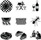 Picnic,Picnic Basket,Basket,Ant,Symbol,Picnic Table,Religious Icon,Sandwich,Table,Vector,Wine,Icon Set,Food,Tablecloth,Glass,Carrying,Ilustration,Checked,Summer,Fork,Lunch,Wineglass,Place Setting,Watermelon,Chicken,White,Wine Bottle,Red,Spoon,Table Knife,Party - Social Event,Red Checkered Tablecloth,Fried Chicken,Couple,Sitting,Sitting Down,Carry Away,Food And Drink,Low Section,Parties,Nature,Holidays And Celebrations,Eating