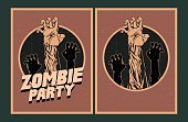 Party - Social Event,Halloween,Zombie,Invitation,Ilustration,Placard,Typescript,mouldering,Circle,Dead Person,Internet,Poster,Retro Design,Dead,typographic,Jester,Celebration,Spooky,Vector,Men,Design,Set,Crowd,Retro Wallpaper,Underground,Midnight,Rotting,Holiday,Sign,Greeting,Advertisement,Night