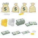 Currency,Money Bag,Coin,Paper Currency,Sack,Dollar,Symbol,Wealth,Vector,Gold,Dollar Sign,Bribing,Finance,Silver - Metal,Stolen Goods,Ilustration,Banking,Savings,US Currency,Wages,Stacking,Stack,Making Money,Treasure,Investment,Heap,US Coin,US Paper Currency,Bag,Conceptual Symbol,Global Finance,Full,monetary,Open,Money Sack,Tied Up,moolah,Trade Deficit,Closed,Tied Knot,Drawstring Bag,Token