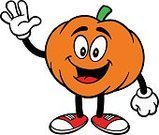 Presentation,Ilustration,Color Image,Single Object,Vector,Squash - Sport,Gesturing,Pumpkin,Cartoon,No People,Orange Color,Mascot,Waving,Showing,Characters,fall festival,Nature,Autumn,Halloween,Simplicity