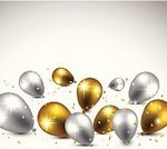 Balloon,Silver Colored,Backgrounds,Gold Colored,Star Shape,Celebrities,Bright,Vector,Ilustration,Confetti,Shiny,Party - Social Event,Joy,Toy,Anniversary,Multi Colored,Collection,Surprise,Celebration,Fun,Decoration,Holiday,Eps10,Flying,Reflection,Carnival,Color Image,Colors,Air,Design,White,Birthday,Happiness,Gift,Candid