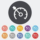 Dashboard,Speed,Control,Car,Wheel,Transportation,Pushing,Computer Icon,Vector,Set,Cruise,Button,Speedometer,Machinery,Part Of,Symbol,Painted Image,Drive,Control Panel,Technology,Equipment,Electricity,Black Color