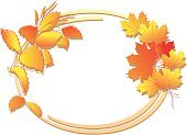 Nature,Floral Pattern,Autumn,Orange Color,Beige,Plant,Vector,Branch,Color Gradient,Maple,Vibrant Color,Ellipse,Frame,Backgrounds,Ilustration,Season,Grass,Shadow,Red,Yellow,Frame,Greeting Card,Greeting,Leaf,Gold Colored