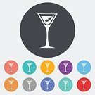 Black Color,Olive,Ilustration,Painted Image,Glass - Material,Martini,Vector,Computer Icon,Set,Bar Counter,Relaxation,Wineglass,Pattern,Toothpick,Drink,Alcohol,Group Of People,Holiday,Celebration,Party - Social Event,Club Suit,Restaurant,Design Element,Kitchen Utensil,Silhouette,Cocktail,Food,Isolated,Glamour,Symbol,Computer Graphic