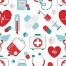 Healthcare And Medicine,Symbol,Seamless,First Aid Kit,Human Heart,Heart Shape,Backgrounds,Concepts,Alternative Therapy,Adhesive Bandage,asclepius,Vector,Design Element,Design,Scrapbook,Paper,Pattern,Insignia,Emergency Services,Wrapping Paper,Assistance,Examining,Doctor,Ambulance,Accident,Abstract,Ilustration,Cast,Service,Capsule,Pill,Injecting,Syringe,Pharmacy,Flat,Frequency,Stethoscope,Medicine,Book Cover,Marketing,Ornate