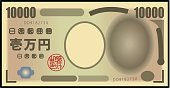 Currency,Japan,Buy,Wealth,Color Image,Bill,Riverbank,transact,Number 10,10000,Colors,greenbacks,Posing,Thousand,Japanese Currency,Commercial Activity,Security,Symbol,Paper Currency,Paper,Finance