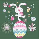 Skill,Creativity,Celebration,Congratulating,Vector,Small,Backgrounds,Season,Pattern,Striped,Repetition,Fun,Easter,Multi Colored,Blue