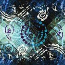 Curve,Ornate,Blue,Repetition,Continuity,Backgrounds,Vector,Pattern