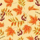 Food,Symbol,Freshness,Nature,Design,Plant,Thanksgiving,Red,Pattern,Textile,Paper,Fruit,Tree,Branch,Leaf,Season,Ripe,Autumn,Maple Tree,Forest,Decoration,Backgrounds,Wrapping Paper,Berry Fruit,Rowanberry,Tile,Illustration,Textured,No People,Vector,Backdrop,Seamless Pattern,Juicy