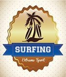 Surfboard,Wave,Sign,Tourism,Vacations,Ilustration,Sea,Resting,Design Element,Clip Art,Tourist,Computer Graphic,Beach,Relaxation,Recreational Pursuit,Season,Travel Destinations,Digitally Generated Image,Summer,Design,Surfing,Sport,Symbol,Vector,Tropical Climate,Island