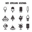 Symbol,Ice Cream Sundae,Ice Cream,Refreshment,Summer,Icon Set,Cherry,Gourmet,Isolated,Glass,Waffle,Sign,Parfait,Vanilla Ice Cream,Whipped,Black Color,Watermelon,Milk,Cold - Termperature,White,Vector,Dessert,Ilustration,Food,Scoop,Banana,Cup,Sweet Food,Snack,Menu,Monochrome,Sorbet,Fruit,Chocolate,Ice Cream Cone,Strawberry