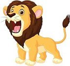 Lion - Feline,Roaring,Furious,Beached,Anger,Humor,Cute,Mane,Fun,Animals In The Wild,Tropical Rainforest,Animal,Safari Animals,Animated Cartoon,Horror,Large,Animal Teeth,Feline,Undomesticated Cat,Displeased,Zoo,Fang,Cartoon,Spooky,Mammal,Characters,Fur,Male Animal,Vector,Red,Ilustration,Africa