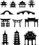 Torii Gate,Japan,House,Vector,Japanese Culture,Temple - Building,China - East Asia,Chinese Culture,Bridge - Man Made Structure,Bridge - Vessel Part,Architecture,Gazebo,Built Structure,Building Exterior,East,Gate,Memorial,Old,Oriental,Cultures,Pavilion,Asia,Tower,Design,Arch,Synagogue,Silhouette