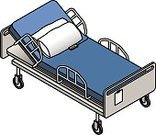 Bed,Hospital,Healthcare And Medicine,Isometric,Three Dimensional,Intensive Care Unit,Hospital Gurney,Urgency,Empty,Wheel,Hospital Ward,Cable Car,Equipment,Mobility,Reclining Chair,Podium,Modern,People,Ilustration,Effort,Illness,Care,Pain,Pillow,White,Steel,Recovery,Domestic Room,IV Drip,Clinic,adjustable,Sparse,Assistance,Chair,Chart,Patient