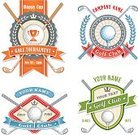 Golf,Sign,Bay Tree,Badge,Tee,Competition,Coat Of Arms,Retro Revival,Circle,Placard,Symbol,Banner,Laurel Wreath,Ball,Winning,Golf Ball,Ilustration,Garland,Design,Ribbon,Set,Hobbies,Label,Star Shape,Playing,Sport,Green Color,Trophy,Text,Insignia,Golf Club,Seal - Stamp,Crown,Vector,Isolated,Championship,Sports League,Wreath