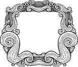 Ilustration,White Background,Copy Space,Engraved Image,Scroll Shape,Swirl,Frame,Gothic Style,Symmetry,embellish,hand drawn,Flourish,Woodcut,Style,Vector,Isolated,Cut Out,Old-fashioned,Retro Revival,Ancient,doorplate,Doodle,Antique,Black And White,Ornate,Decor,Design Element,Abstract,Contrasts,Picture Frame