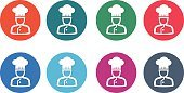 Chef's Hat,foodie,Vector,Design Element,Cooking,Circle,Chef