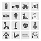 Symbol,Belt,Computer Icon,Boxing,Vector,Set,Sports Glove,Punching,Sport,Ilustration,Bag,Medalist,Gray,Sign,Business,Referee,Judge - Sports Official,Collection,Mass - Unit Of Measurement,Water,Boxing Ring,Internet,Backgrounds,Design,Fighting,White,Men,Shape,Sports Training,Icon Set,Silhouette,Winning,Bottle,Silver Colored,Human Head,Square,Weights,Rope,Shorts,Black Color