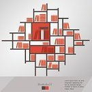 Book,Stack,Digitally Generated Image,Education,Bookshelf,Learning,Library,Vector,Literature,Archives,Ilustration,Sparse,Vase,Group of Objects,Wall,Arranging,Bookstore,Shelf,Set,Studying,Branch,Pattern,Backgrounds,bibliography,Arrangement,Collection,Modern,Lifestyles,Indoors,Wallpaper,Office Interior,Rowing,University,Symbol,Flat,Study,Domestic Room,School Building,Design,Encyclopaedia,Design Element,Teaching