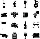 Wine Bottle,Wine,Computer Icon,Symbol,Glass,Glass - Material,Cheese,Icon Set,Autumn,Food,Winery,Corkscrew,Retro Revival,Old-fashioned,Old,Wineglass,Web Page,Drink,Alcohol,Summer,Connection,Business,Technology,Collection,Isolated,Restaurant,Environment,Fruit,Grape,Sign,Vineyard,Alcohol,Nature,Barrel,Ilustration,Design Element,Bunch,Environmental Conservation,Mobile Phone,Internet,Computer,user,Black Color,Telephone,Leaf,Set,Vector,Design,Bottle,Vine