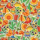 Mexico,Mexican Culture,Lizard,Taco,Vector,Backgrounds,Cactus,Dahlia,Decoration,Green Color,Label,Orange Color,Ethnic,Pattern,Mask,Man Made Object,Seamless,Blanket,Wallpaper Pattern,Backdrop,Cultures,Red,Maraca,Margarita,Pepper - Vegetable,Chili Pepper,Pinata,Avocado,Cowboy Boot,Knick Knack,Yellow,Ilustration,Sombrero,Human Skull,Shadow