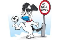 Dog,Soccer,Rudeness,Sport,Rebellion,Vector,Cartoon,Keep Ups,Playing,Mischief,Sign,Relaxation Exercise,Ball,Ignoring,Soccer Ball,Fun,Exercising,Illustrations And Vector Art,Sports And Fitness,Ilustration,Dogs,Playful,Smiling,Ball Up,Vector Cartoons,Forbidden,Practicing,Baseball - Sport,Canine,Animals And Pets