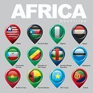 Africa,Flag,Country - Geographic Area,Information Sign,Nigeria,Central African Republic,Fashion,Style,Burkina Faso,Equatorial Guinea,Liberia,Cooperation,Organization,Design,Information Symbol,Cartography,Aiming,Interface Icons,Computer Icon,Finance,Felt Tip Pen,Distance Marker,Colors,Labor Union,Map,DR Congo,Sign,Elegance,Republic of the Congo,Pattern,Botswana,Egypt,South Sudan,Organized Group,National Landmark,nations,Color Image,Guinea Bissau,Vector,Clip Art,Computer Graphic,Digitally Generated Image,Symbol,Pointer Stick,Direction,Eritrea,Label,Ilustration