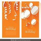 Birthday,Celebration,Backgrounds,Streamer,Invitation,Carnival,Confetti,Anniversary,Balloon,Set,Banner,No People,Vector,Party - Social Event,Friendship,Abstract,Flat,Ribbon,Decorating,Vertical,Simplicity,Colors,Decoration,Orange Color,Swirl,Design,Paper,Traditional Festival,Holiday,Greeting,Modern,Ilustration,Sparse,Congratulating,Internet