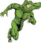 Alligator,Strength,Front View,Anger,Computer Graphic,Design,Furious,Isolated,Tattoo,Running,Mascot,Aggression,Displeased,Team,Sprinting,Snarling,Charging,Cartoon,Characters,Art,Track Event,Power,Sports Team,White,Anthropomorphic Face,Charge,Vector,Amphibian,Symbol,Animals In The Wild,Monster,Animal,Animated Cartoon,Crocodile,Ilustration,Sign,Drawing - Art Product,Animal Themes,Sport,Clip Art,Animal Head,Cruel,Roaring,Offense,Art Product,Team Event,Charging