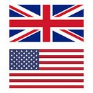British Flag,USA,The Americas,UK,Ilustration,Isolated,American Culture,England,Flag,English Culture,British Culture