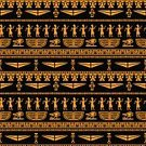 Egypt,Pattern,Egyptian Culture,African Culture,Africa,African Descent,Horus,Animal Eye,Human Eye,Seamless,Vector,Backgrounds,Men,People,Mural,Dancing,Symbol,Cartoon,Ilustration,Geometric Shape,Frame,Indigenous Culture,Paintings,Fresco,Painted Image,Abstract,Horus Eye,Composition,Floral Pattern,Silhouette,Cultures,Tribal Art,Pharaoh,Illustrations And Vector Art,Pyramid Shape,Creativity,Wallpaper Pattern,Cross,Sign,Outline,Drawing - Art Product,Decor,Gold Colored,Black Color,Art,Ankh,Ethnic,Hieroglyphics,Antique,Ancient,Colors,Old-fashioned,Obsolete,Flower