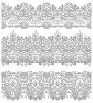 Ornate,Embroidery,Eternity,Decoration,Decor,Tracery,Collection,Silk,Textile,Fashion,Pinstripe,Repetition,Symmetry,Pattern,Leaf,Carving - Craft Product,Computer Graphic,Ilustration,Vector