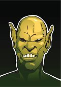 orc,Monster,Warrior,ork,Ogre,Troll,Fantasy,Cartoon,Ilustration,Characters,Drawing - Art Product,Vector,Evil,Illustrations And Vector Art,Arts And Entertainment,Halloween,Green Color,Pencil Drawing,Fairy Tale,Vertical