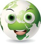 Backgrounds,Happiness,Vector,Computer Icon,Ilustration,Isolated,Abstract,White,Symbol,Planet - Space,Smiling,Earth,Smiley Face,Cheerful,Cartoon,Cute,Global
