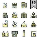 Symbol,Office Building,Computer Icon,Outline,Castle,Church,Sign,Store,Computer Graphic,Design,Construction Industry,Infographic,Connection,Hospital,Tent,Residential District,Distribution Center,White,Capital Cities,Windmill,Factory,Creativity,City,Tower,Ribbon,Temple - Building,Gas Station,Hotel,Lookout Tower,Technology,Vector,Black Color,Single Line,Icon Set,Head Quarters,Satellite Dish,Nuclear Power Station,Apartment,Application Software,Headquarters,Circus,Architecture,School Building,Real Estate,Business