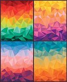 Bright,Design,Mosaic,Colors,Bright,Multi Colored,Pattern,Grid,Modern,Sunset,Decoration,Backgrounds,Triangle Shape,Origami,Ornate,Abstract,Illustration,Group Of Objects,No People,Vector,Backdrop